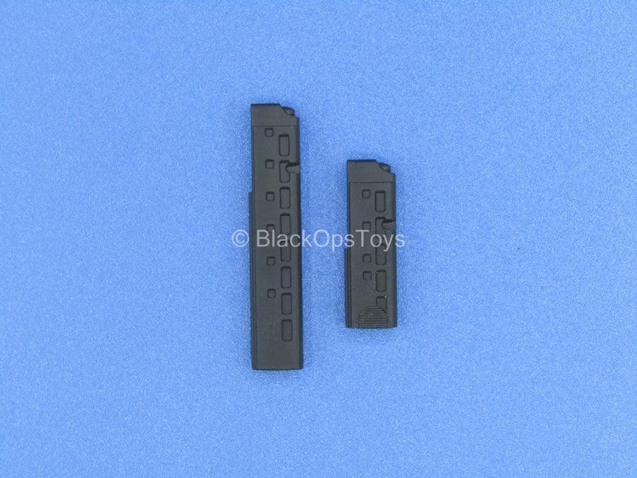 Custom - Black MP9 Submachine Gun Magazines (x2)