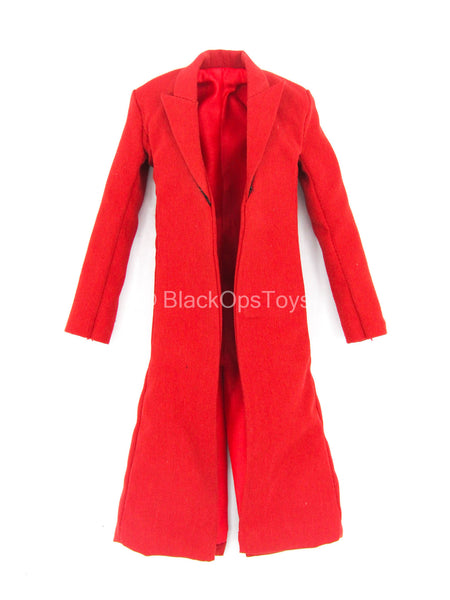 Female Comedian - Red Wired Long Suit