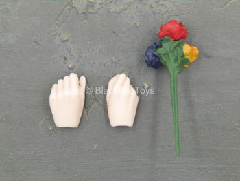 Female Comedian - Female Hand Set w/Roses