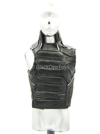Captain America - Winter Soldier - Black Leather-Like Vest