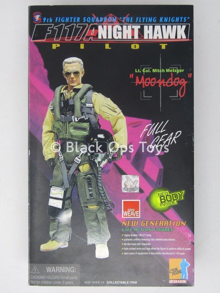 U.S.A.F. Nighthawk Pilot - Male Base Body
