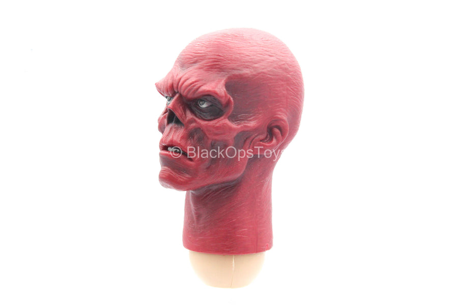 Captain America - Red Skull - Red Male Head Sculpt