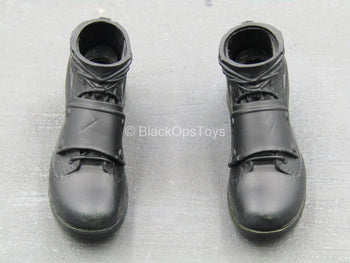 Infinity War - Winter Soldier - Black Combat Boots (Peg Type)