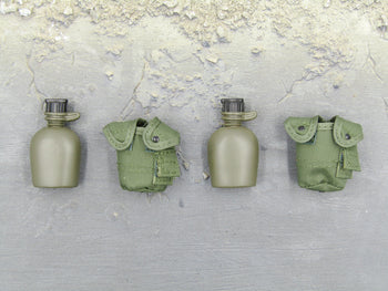 Lightweight Gear Set - OD Green Canteen & Pouch Set