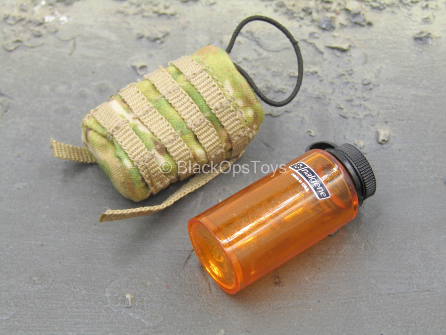 1000ml Space Cup - Orange Water Bottle w/Multicam MOLLE Pouch