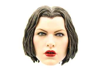Resident Evil - Alice - Female Head Sculpt w/Magnetic Hair Piece