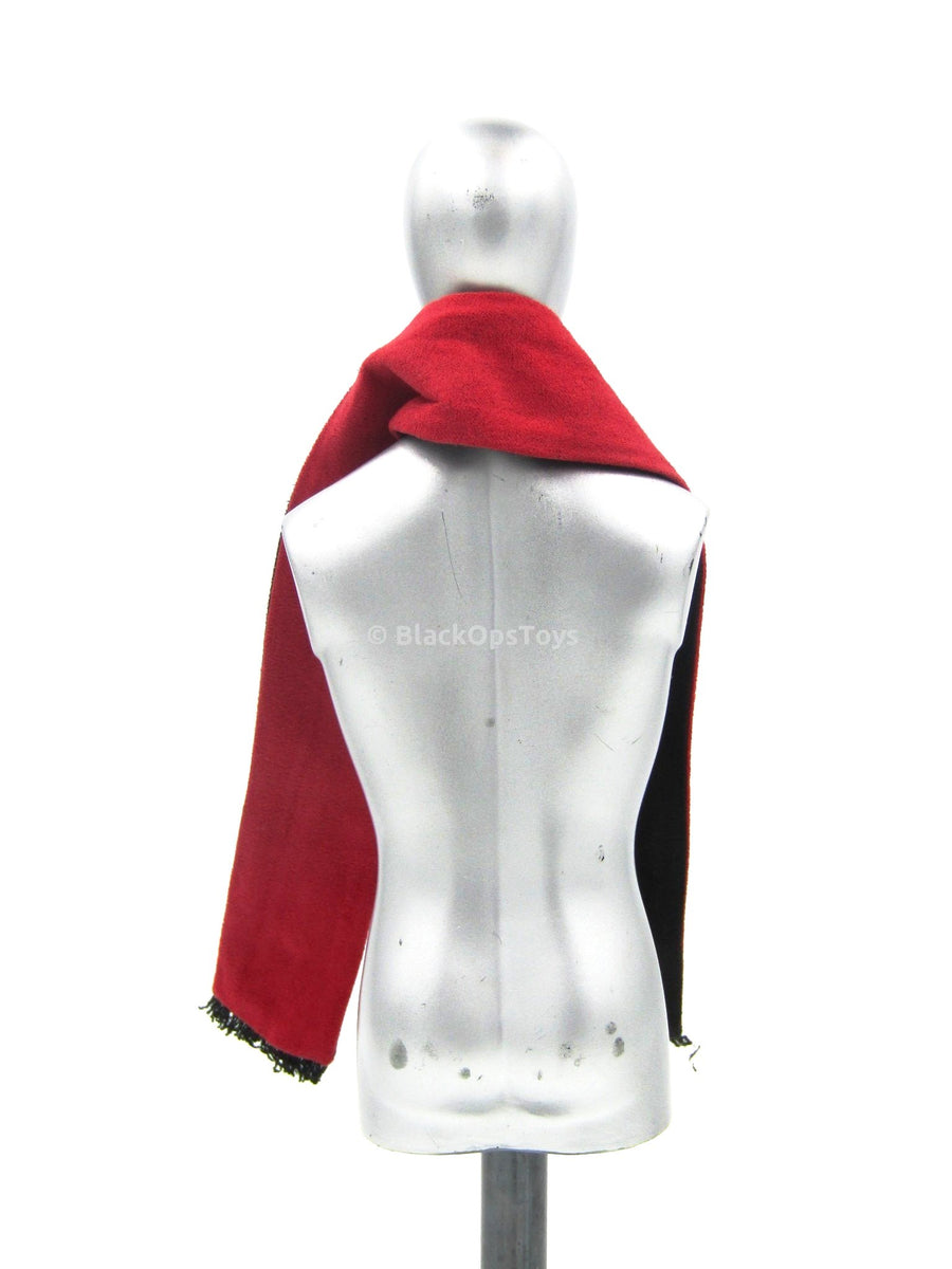 Spade J - Red & Black Full Length Scarf