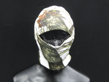 Outdoor Men's Mossy Oak Winter Camo - Balaclava