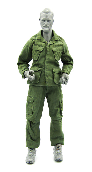 UNIFORM - Vietnam Era OD Green Uniform Set w/Plastic Snaps