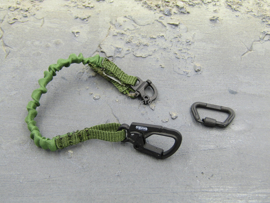Special Mission Unit Part VI Security Team Version (Camo) OD Green Retention Lanyard w/Carabiner