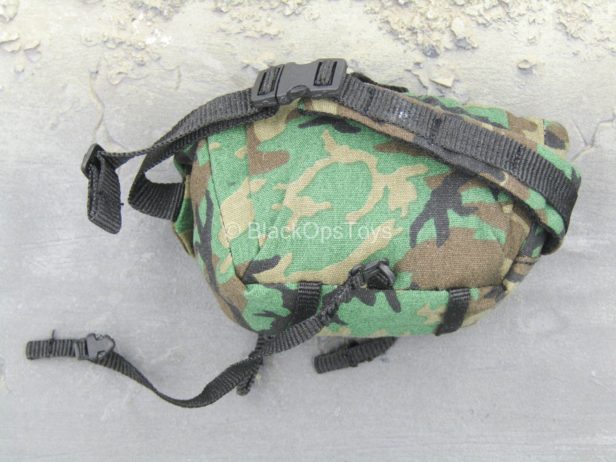 Agency Global Response Staff - Woodland Camo Sling Bag w/Patch
