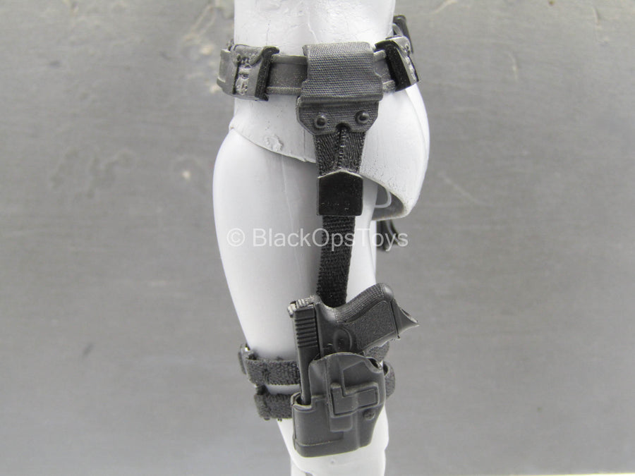 The Avengers - Black Widow - Belt w/Drop Leg Holsters & Pistols