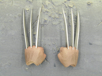 The Wolverine - Hand Set w/Adamantium Claws (REAL METAL)