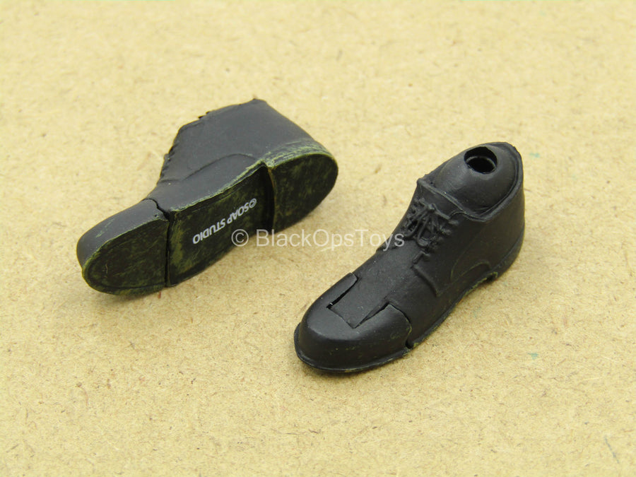 1/12 - Harvey Dent - Black Shoes (Peg Type)