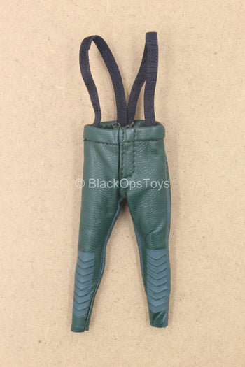 1/12 - Arrow - Green Leather Like Pants w/Suspenders