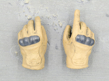 HAND - Black & Coyote Tan Gloved Hand Set