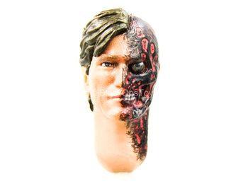 1/12 - Harvey Dent - Male Head Sculpt w/Explosion Damage