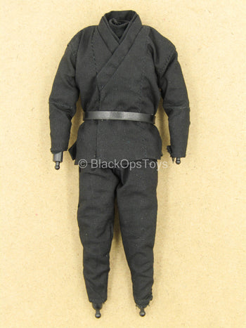1/12 - League Of Shadows - Black Ninja Uniform Set