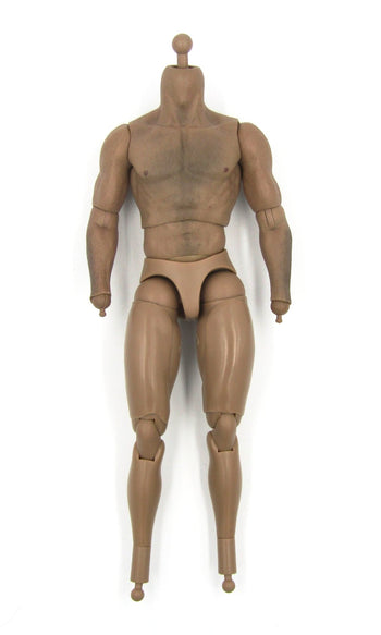 The Wolverine - Male Base Muscle Body w/Chest Hair Detail