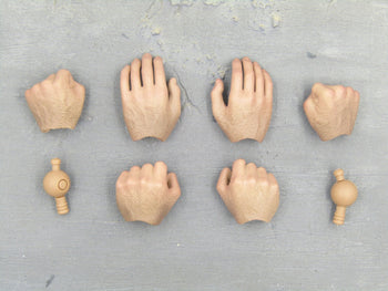 The Wolverine - Hand Set (x6) & Wrist Pegs (x2)