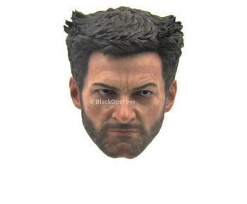 The Wolverine - Head Sculpt in Hugh Jackman Likeness