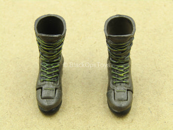 1/12 - League Of Shadows - Brown Boots (Peg Type) (Type 1)
