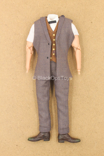 1/12 - Newt Scamander - Male Base Body w/Uniform Set