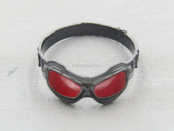 The Falcon - Red Lens Flight Goggles