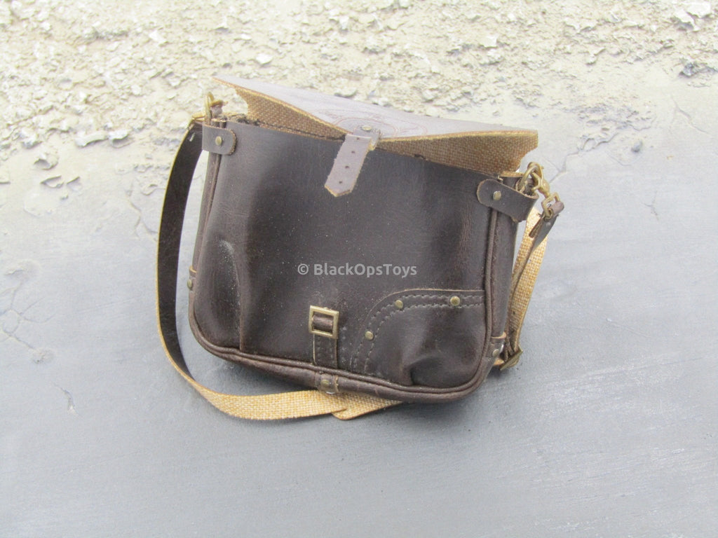 Jack Bauer - Brown Leather Like Cross Chest Bag