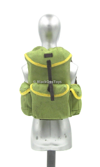 DOOMSDAY SURVIVOR - Lime Green Back Pack