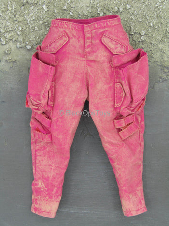 Mindgame - Red Weathered Pants