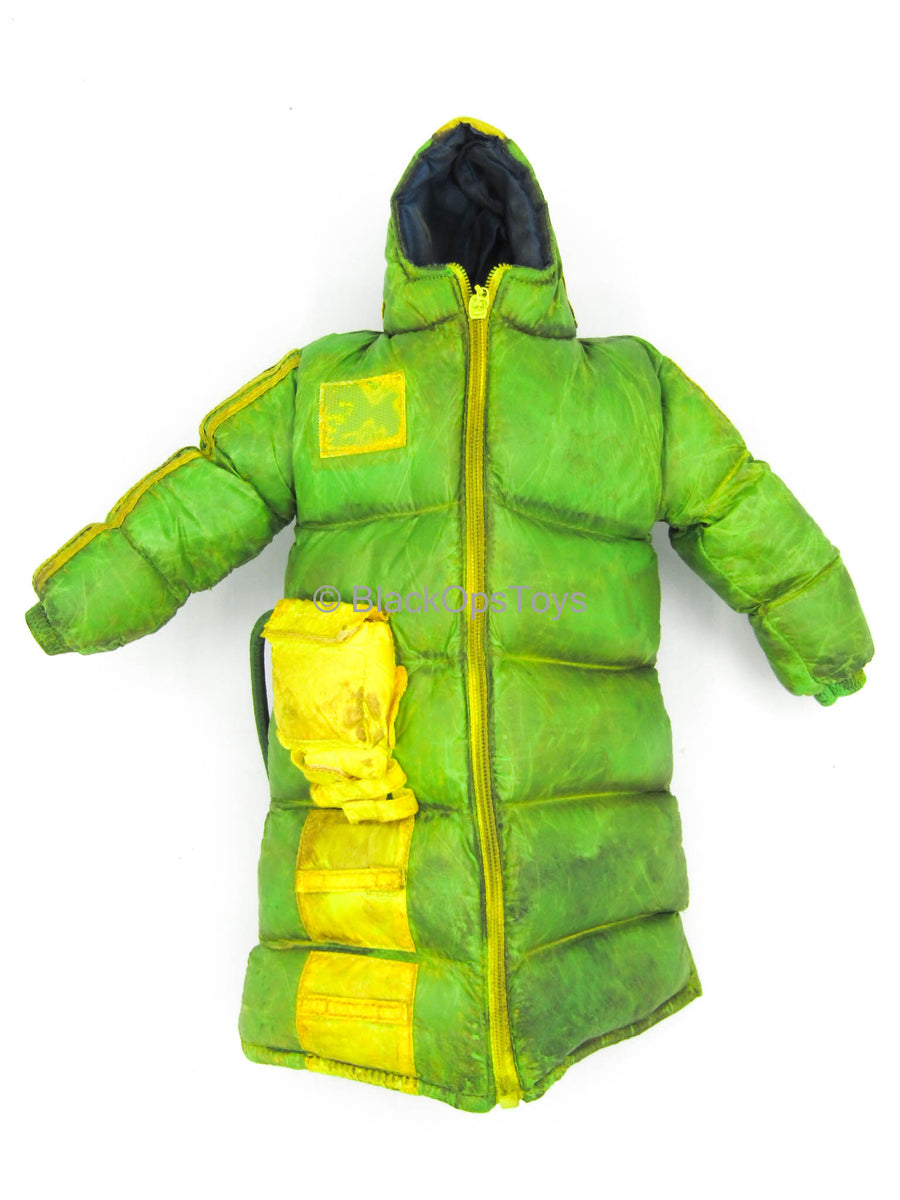 Mindgame - Green Puffy Jacket