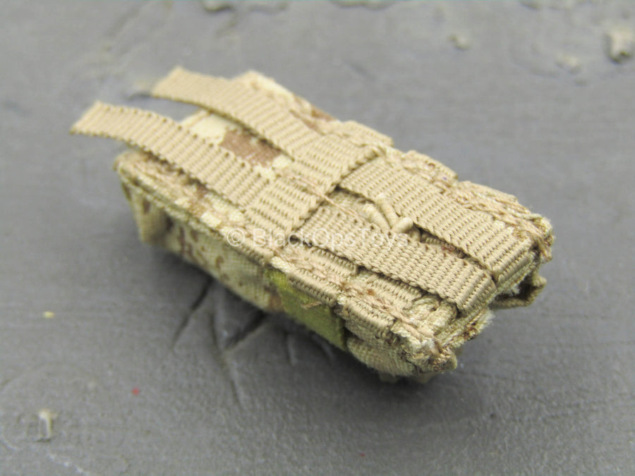 US DEVGRU Op. NS - AOR-1 Camo MOLLE Radio Pouch Type 2