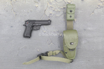75th Army Ranger - M9 Beretta w/Molded Pouch