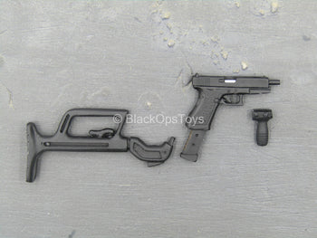 Bank Robber - Carol - 9MM Pistol w/Butt Stock Set