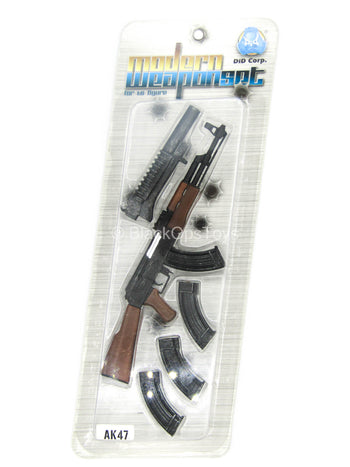 AK-47 Rifle & Grenade Launcher Modern Weapon Set - MINT IN BOX