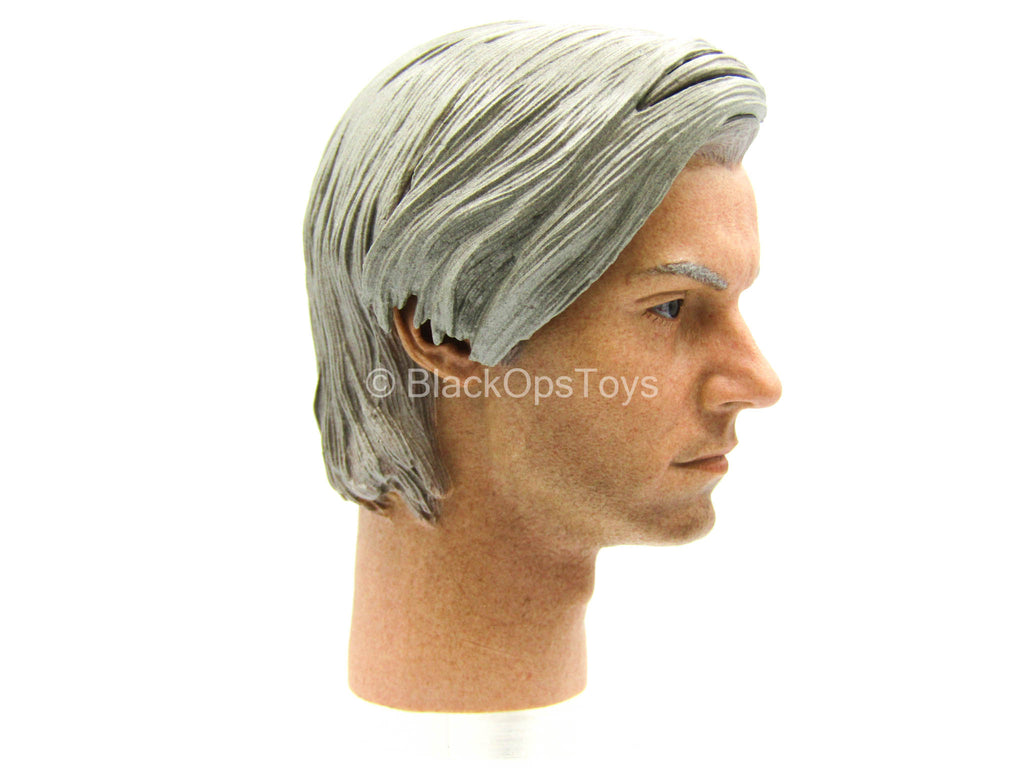 Speedsilver 2.0 - Silver Haired Male Head Sculpt