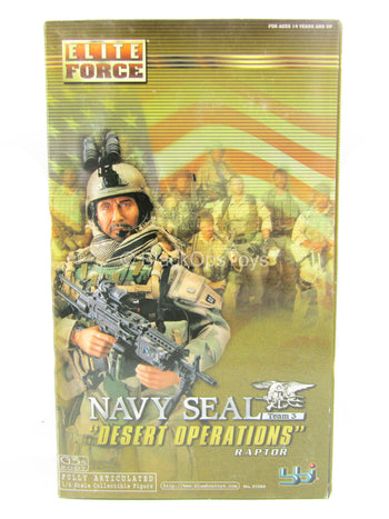 Navy Seal Desert Operations Raptor - MINT IN BOX