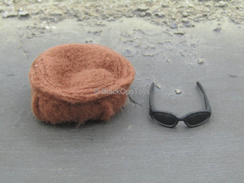 Desert Ops Rifleman - Brown Pekol Hat & Glasses