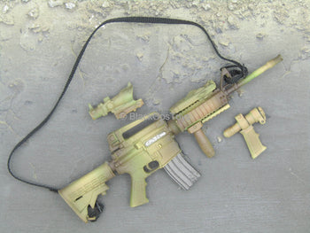 Desert Ops Rifleman - Camo M4 Assault Rifle w/Attachments