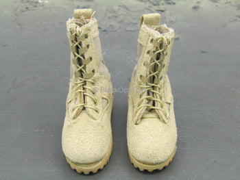 Desert Ops Rifleman - Tan Combat Boots (Foot Type)