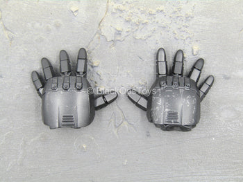 The Punisher - War Machine Armor - Black Armor Hand Set w/Movable Fingers