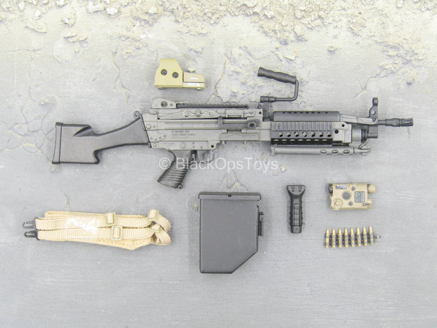 U.S. Navy Seal Team 3 - MK46 MOD 0 LMG w/Attachment Set