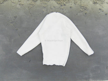 BLOODSHOT - White Long Sleeve Under Shirt