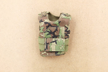 1/12 - 75th Task Force Ranger - Woodland Camo Plate Carrier