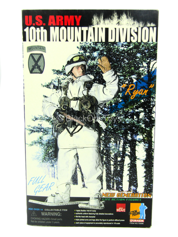 "US Army 10th Mountain Division ""Ryan"" - MINT IN BOX"