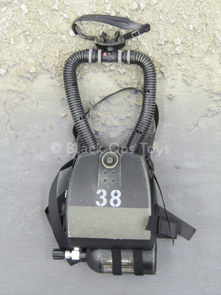 U.S. Navy Seal HALO Jumper - Drager Rebreather