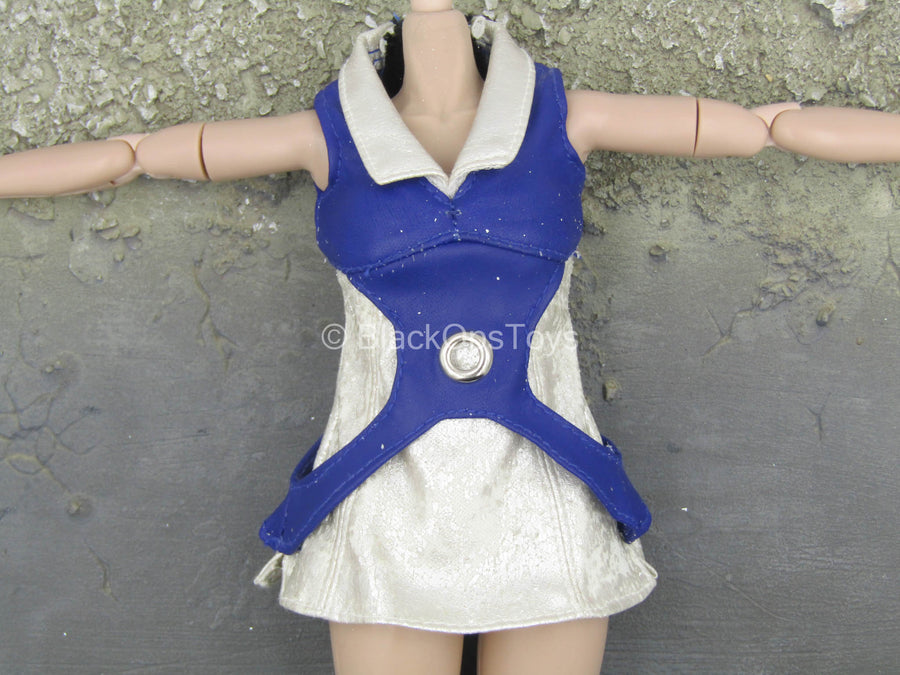 Kisaragi Honey - Blue Leather-Like Vest
