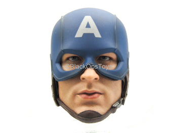 Captain America - Male Masked Head Sculpt