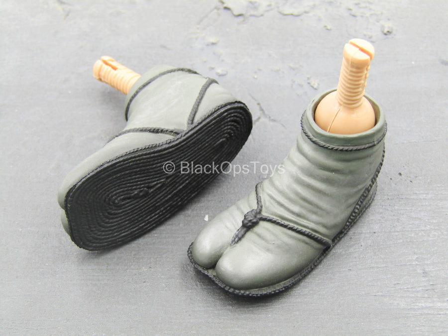 GI JOE - Cobra Ninja Viper - Ninja Sandals (Peg Type)